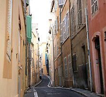 Alley in Marseille France by tamarakenyon