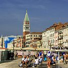 On the Riva Degli Schiavoni by Tom Gomez
