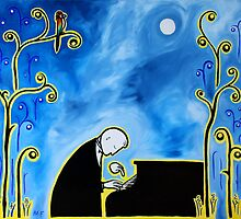 The Pianist by Midori Furze