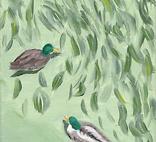 Oxide of Chromium and Ducks by Amy-Elyse Neer