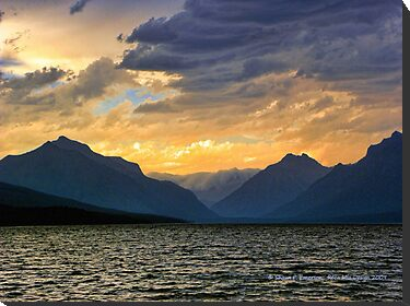 Lake MacDonald Evening by rocamiadesign
