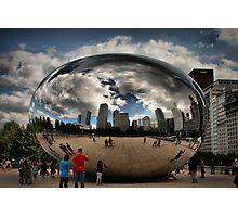 Skyline Bubble Photographic Print