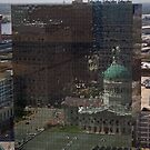Missouri State Capital Building in Reflection by eegibson