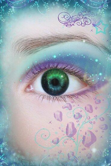 Sapphire eyes... by michellerena