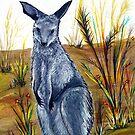 Joey the Kangaroo  by © Linda Callaghan