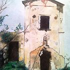 St.Raphael old closed church at Stabia by Coda Catello