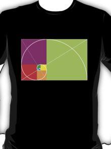 Golden ratio spiral T-Shirt