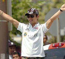 IPL 500 Festival Parade Drivers 6 by Oscar Salinas