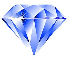 Blue diamond by Laschon Robert Paul