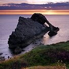 Calm Morning - Bow Fiddle Rock by Jim Robertson
