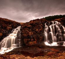Glen Brittle Falls by Roddy Atkinson