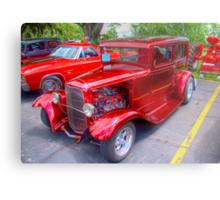 1936 Model A  Ford Hot-Rod Metal Print