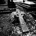 Cross Grave by Michael  Addison