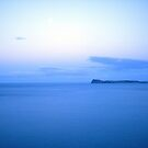 Blue Cloud Mirrored Over Slipper Island by Vicktorya Stone