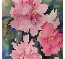 Pink Peonies by Myhandyourheart