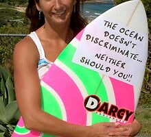 Layne Beachley by Robert Knapman