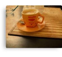 Vintage Coffee. Canvas Print