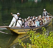 Japanese adventurers. Arashiyama by johnrf