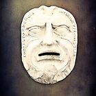 Stone Mask on the Wall by ritawong