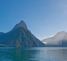Mitre Peak - Milford Sound by pennyswork