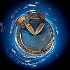 River Garonne Toulouse - HDR Polar Panorama by HKart
