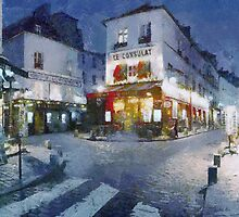 le consulat - paris france by DARREL NEAVES