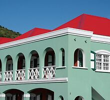 Pastel Colors of St. Maarten - St. Martin by Daniel B McNeill