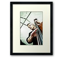 The String Theory Framed Print