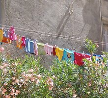Monday is washing day..... Corfu Greece by fruitcake
