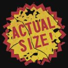 Actual size! by Emma Harckham
