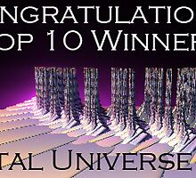Top 10 Challenge Winner Fractal Universe by Julie Everhart