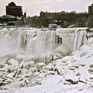 Niagara Falls In Winter by Heather Vallance