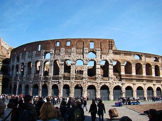 Roman Colosseum, Italy by Al Bourassa