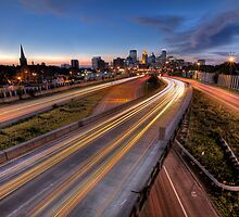 Downtown Minneapolis by Tojy George