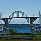 Bridges in Denmark - Queen Alexandrine Bridge  by imagic