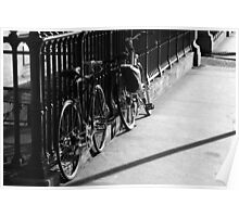 Bicycles At The Opera Poster