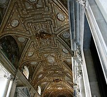 Ceiling in the Vatican by tamarakenyon