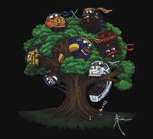 NINJAS. They're EVERYWHERE - Trains in a tree! by Hydrothrax