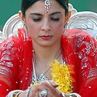An Indian Bride. Brisbane, Queensland, Australia. by Ralph de Zilva