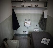 Alcatraz Prison Cell by Tim Topping