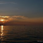 Sunset Lake Ontario by BillK