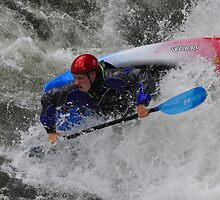 Kayaker Fun by Michelle  Edwards Insights Photography