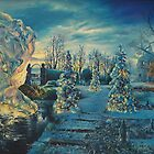"""Christmas II; the Garden in Winter"" by James McCarthy"