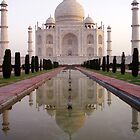 The Taj Mahal by MickC