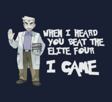 I came. Professor Oak. by mioneste