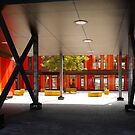 Het 4e Gymnasium - courtyard by Marjolein Katsma