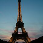 Eiffel Tower by chipster