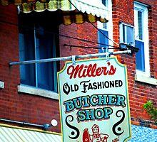 Miller's Old Fashioned Butcher shop by Taylor Katz