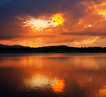 Golden Nugget Sunset by Bo Insogna