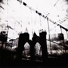 Brooklyn Bridge double by leigh miller